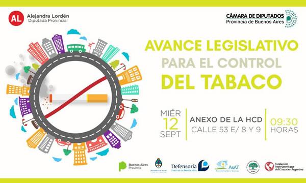 Jornada de avance legislativo para el control del tabaco