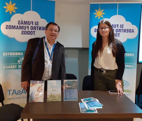 Participación de AsAT en el Congreso Argentino de Medicina Respiratoria 2019